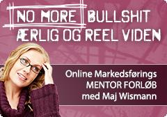 Online Markedsførings Mentor Forløb med Maj Wismann