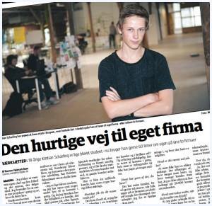 Kristian Scharling i medierne