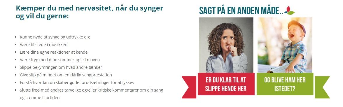 Syng bedre med Sangundervisning online