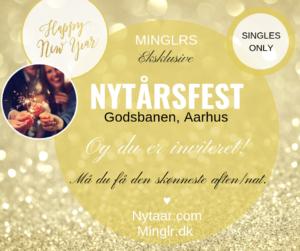 Minglr nytårsfest i Aarhus - Singleevents