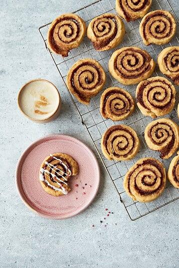 Glutenfri bageri kanelsnegle fra Karinas Bog