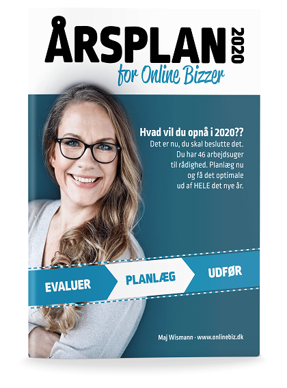 Årsplan for onlinebizzer 2020
