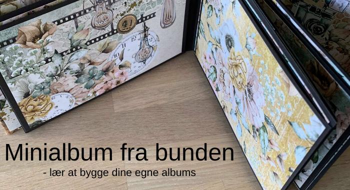 Minialbum fra bunden - Online Kursus